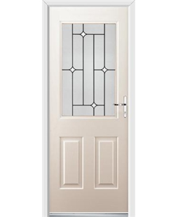 Ultimate Windsor Rockdoor in Cream with White Diamonds
