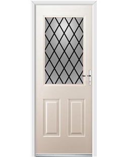 Ultimate Windsor Rockdoor in Cream with Diamond Lead