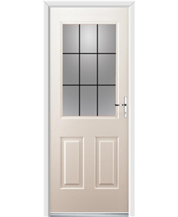 Ultimate Windsor Rockdoor in Cream with Square Lead