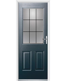 Ultimate Windsor Rockdoor in Anthracite Grey with Square Lead