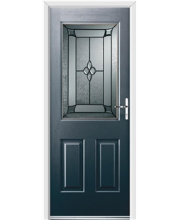 Ultimate Windsor Rockdoor in Anthracite Grey with Titania Glazing