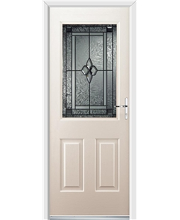 Ultimate Windsor Rockdoor in Cream with Triton Glazing