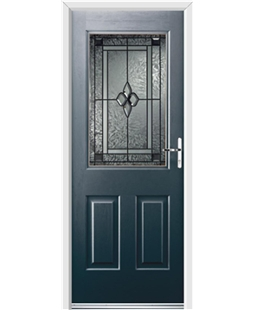Ultimate Windsor Rockdoor in Anthracite Grey with Triton Glazing