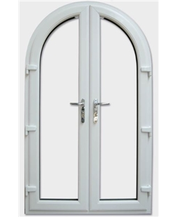 French Arched Door and Frame