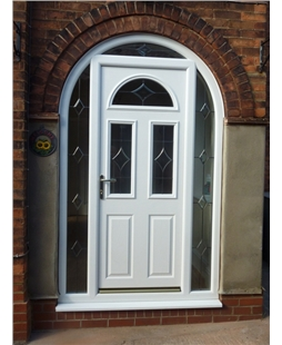 Arched Composite Doors