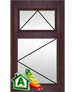 The Bradford uPVC Double / Triple Glazing Windows in  Rosewood