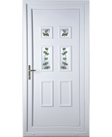 Aylesbury Rose Vine uPVC High Security Door