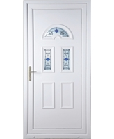 Brighton  Blue Tulip uPVC Door