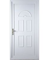 Brighton Solid uPVC Door
