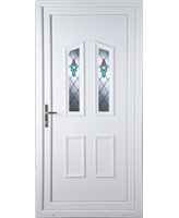 Doncaster Bell Flower uPVC Door