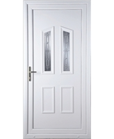 Doncaster New Silver uPVC Door