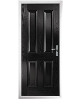 The Manchester Composite Door in Black