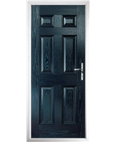 The Hull Composite Door in Blue
