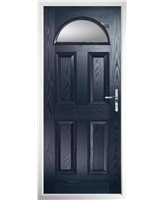 The Derby Composite Door in Blue with Glazing