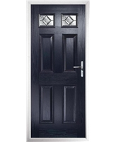 The Ipswich Composite Door in Blue with Simplicity