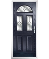 The Glasgow Composite Door in Blue with Simplicity  sc 1 st  Value Doors UK & Value Doors Cheltenham - UPVC Front Doors u0026 Composite Front Doors