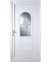 Epsom Bevel Cluster uPVC Door