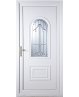 Epsom Harding Bevel uPVC Door