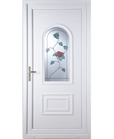 Epsom Wild Rose uPVC Door