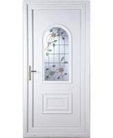 Epsom Yellow Rose uPVC High Security Door