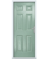 The Hull Composite Door in Green (Chartwell)