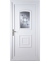 Fareham Blue Orbit uPVC Door