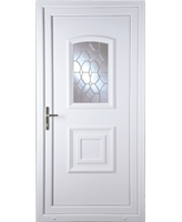 Fareham Clear Crystal uPVC Door