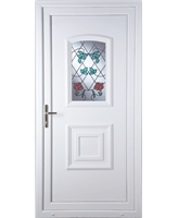 Fareham Climbing Rose uPVC High Security Door