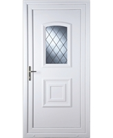 Fareham Diamond Lead uPVC High Security Door