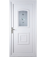 Fareham Georgian Bevel Blast uPVC Door