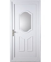 Guilford Clear Glazed uPVC High Security Door