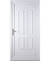 Irvine Solid uPVC Door