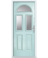 The Glasgow Composite Door in Blue (Duck Egg) with Glazing