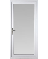 Full Glass uPVC High Security Door