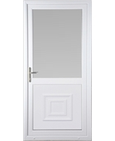 Kirkcaldy Half Raised Panel uPVC High Security Door