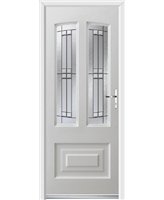 Ultimate Illinois Rockdoor in White with Empire