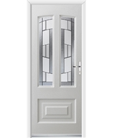 Ultimate Illinois Rockdoor in White with Inspire