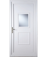 Luton Large Glazed uPVC High Security Door