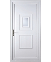 Luton Small Glazed uPVC Door