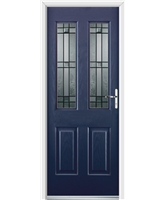 Ultimate Jacobean Rockdoor in Sapphire Blue with Apollo