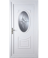 Middlesbrough Bevel Cluster uPVC High Security Door