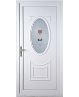 Middlesbrough Resin Rose uPVC Door