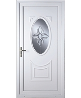 Middlesbrough Star Bevel uPVC Door