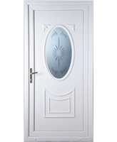 Middlesbrough Star Blast uPVC Door