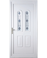 Northampton Crystal uPVC Door