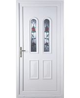 Northampton Queen Anne Rose uPVC Door