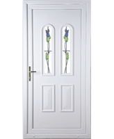 Northampton Trinidad Tulip uPVC High Security Door