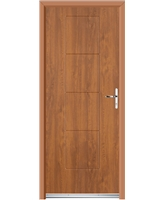 Ultimate Dakota Rockdoor in Light Oak