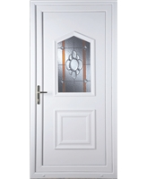 Portsmouth Heaton Bevel Border uPVC Door