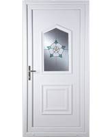 Portsmouth Yorkshire Rose uPVC High Security Door